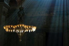 Hagia Sophia interior, Istambul, Turkey Royalty Free Stock Photo