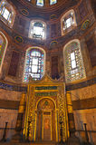Hagia Sophia interior at Istanbul Turkey Stock Photography