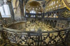 Hagia Sophia interior Royalty Free Stock Photography