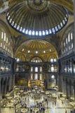 Hagia Sophia interior Royalty Free Stock Photo
