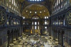 Hagia Sophia interior Stock Photos