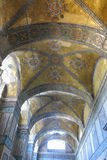 Hagia Sophia interior at Istanbul Turkey. Detail interior of Hagia Sophia (Hagia Sofia, Ayasofya)  in Istanbul, Turkey Royalty Free Stock Photography