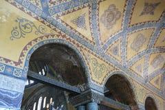 Hagia Sophia interior at Istanbul Turkey. Detail interior of Hagia Sophia (Hagia Sofia, Ayasofya)  in Istanbul, Turkey Stock Image