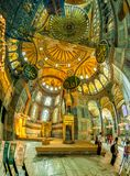 Hagia Sophia Interior Istanbul Stock Photos
