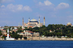 Hagia Sophia - Istambul fotografia de stock royalty free