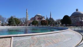 Hagia Sophia Istambul almacen de metraje de vídeo