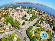 Hagia Sophia, Istambul, Turquia Foto de Stock Royalty Free