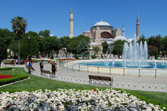 Hagia Sophia, Istambul, Turquia imagem de stock royalty free