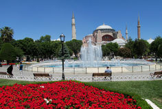 Hagia Sophia, Istambul, Turquia imagens de stock