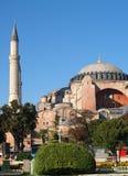 Hagia Sophia in Istanboel Stock Afbeeldingen