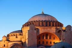 Hagia Sophia in Istanboel Royalty-vrije Stock Fotografie