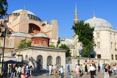 Hagia Sophia in Istanboel Royalty-vrije Stock Foto