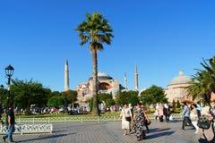 Hagia Sophia in Istanboel Stock Afbeelding
