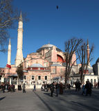 Hagia Sophia in Istanboel royalty-vrije stock afbeelding