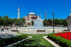 Hagia Sophia in Istanboel, Turkije Stock Foto's