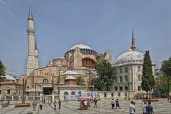 Hagia Sophia, Istanboel, Turkije Stock Foto's