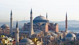Hagia Sophia, Istanboel - Turkije Royalty-vrije Stock Afbeelding