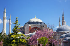 Hagia Sophia in Istanboel, Turkije Stock Afbeeldingen
