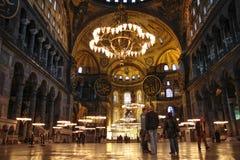 Hagia Sophia, Istanboel, Turkije royalty-vrije stock afbeelding