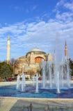 Hagia Sophia, Istanboel, Turkije Royalty-vrije Stock Foto's