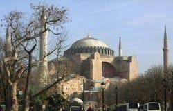 Hagia Sophia, Istanboel, Turkije - December 2014 stock foto's