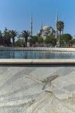 Hagia Sophia in Istanboel Turkije op een April-middag stock foto