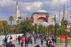 Hagia Sophia Istanbuł Zdjęcia Royalty Free