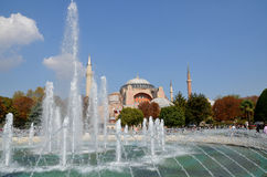 Hagia Sophia in Istanbu Stock Photos
