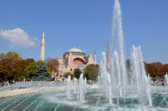 Hagia Sophia in Istanbu Royalty Free Stock Photos