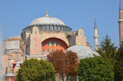 Hagia Sophia in Istanbu Royalty Free Stock Image