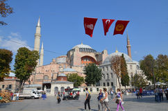 Hagia Sophia in Istanbu Stock Photography