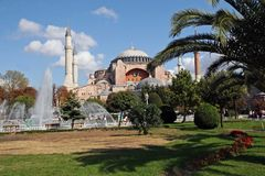 Hagia Sophia in Istanbul lizenzfreie stockfotos