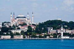 Hagia Sophia in Istanbul royalty free stock photo