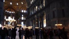 Hagia Sophia Istanbul stock video footage