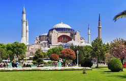 The Hagia Sophia in Istanbul Royalty Free Stock Photos
