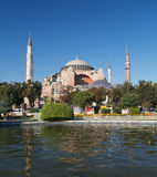 Hagia Sophia in Istanbul. Turkey stock photo