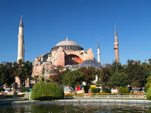 Hagia Sophia in Istanbul. Turkey Royalty Free Stock Photo