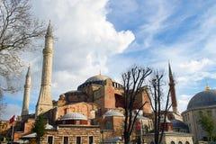 Hagia sophia in istanbul Royalty Free Stock Photography