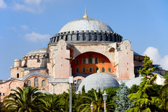 Hagia Sophia in Istanbul Royalty Free Stock Photos