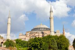 Hagia Sophia, Istanbul Royalty Free Stock Photography