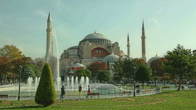 Hagia Sophia Istanbul almacen de metraje de vídeo