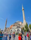 Hagia Sophia, Istanbul attraction Stock Photo