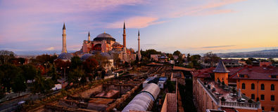 Hagia Sophia, Istanbul, die Türkei Stockbilder