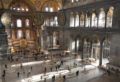 Hagia Sophia, Istanbul, die Türkei Lizenzfreies Stockbild