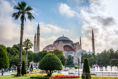 Hagia Sophia in Istanbul, die Türkei Lizenzfreie Stockfotos