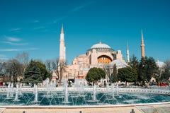 Hagia Sophia, Istanbul, die Türkei Stockbild