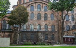 Hagia Sophia in Istanbul, die T?rkei lizenzfreies stockfoto