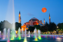 Hagia Sophia in Istanbul Stock Photography