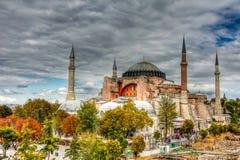 Hagia Sophia, Istanbul. Hagia Sophia (from the Greek: Ἁγία Σοφία, Holy Wisdom; Latin: Sancta Sophia or Sancta Sapientia; Turkish: Ayasofya) is a former Stock Photo