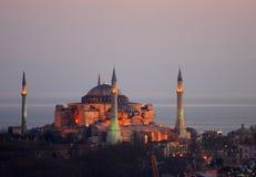 hagia sophia Istanbul indyk Fotografia Stock